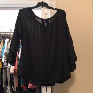 Black blouse size 2